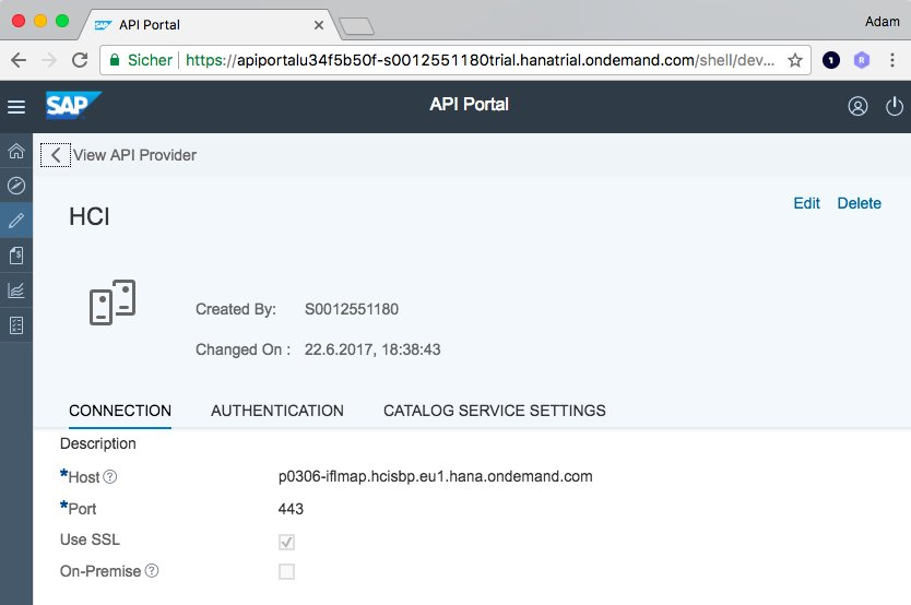 Webhooks with SAP Cloud Platform Integration & API