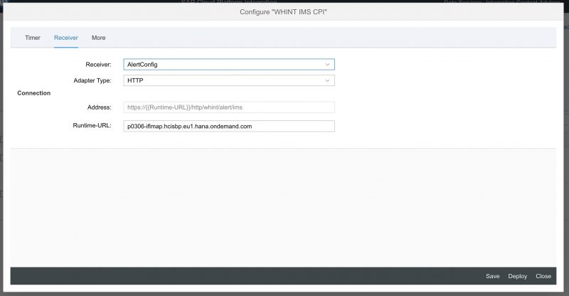 WHINT Interface Monitoring for SAP Cloud Platform